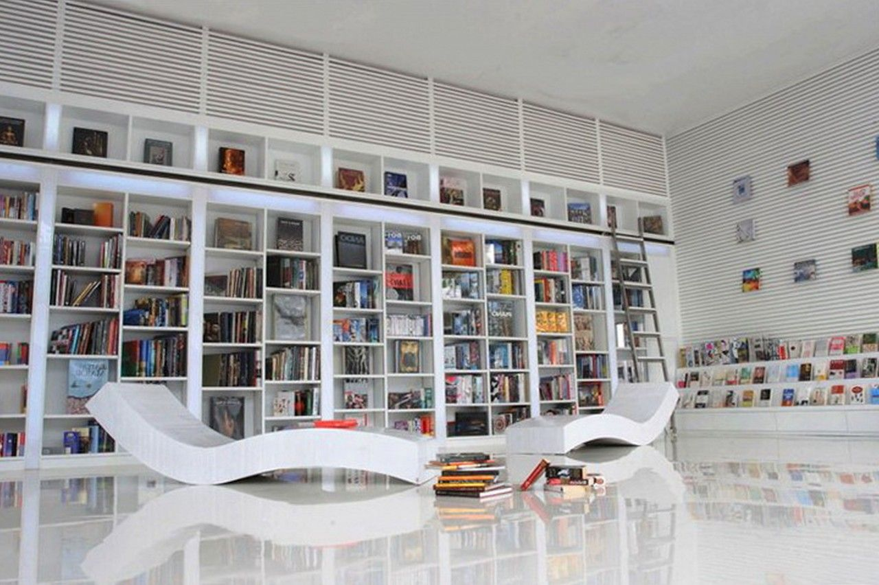 Beautiful wall bookshelves plan gorgeous floating bookshelves remarkable utensils disposition contemporary home library design ideas with unique modern