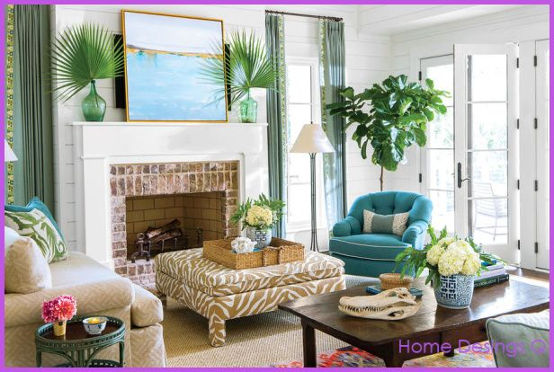 cool Ideas for decorating a living room