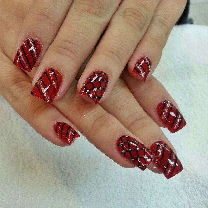 christmas nail design - Google Search   nail designs   Pinterest