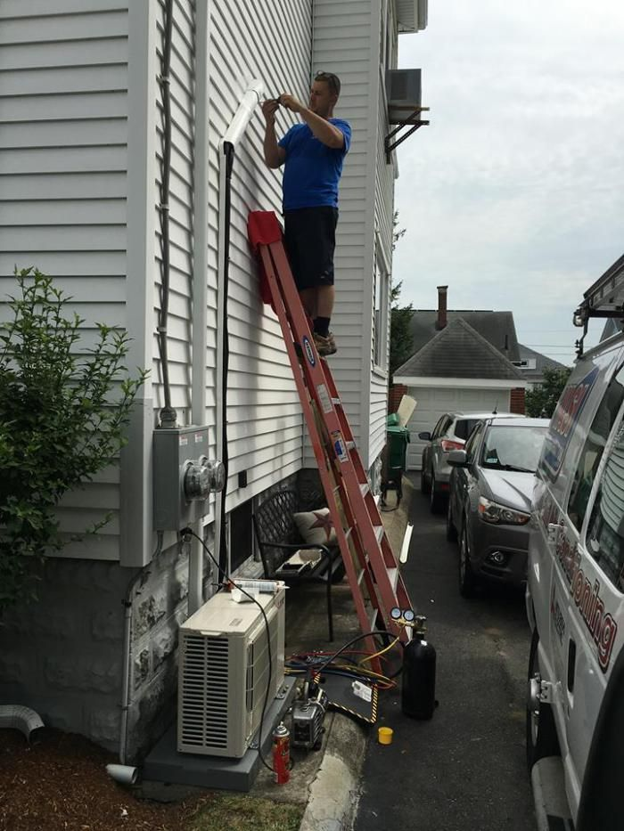 Mitsubishi Ductless Air Conditioner One Day Installation