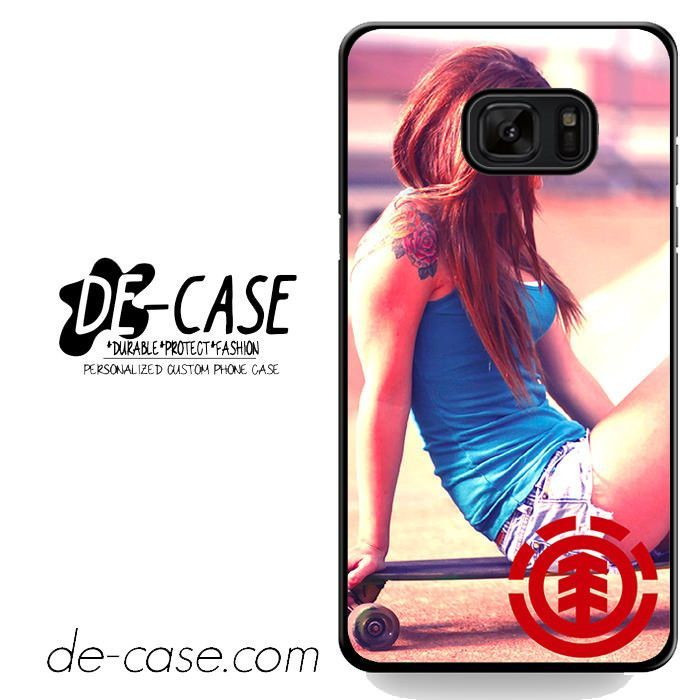 Girl On Element Skateboard DEAL-4683 Samsung Phonecase Cover For Samsung Galaxy Note 7