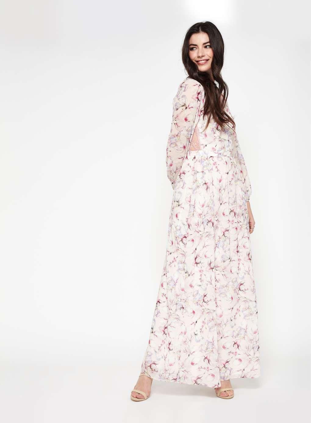 Miss selfridge maxi dress floral