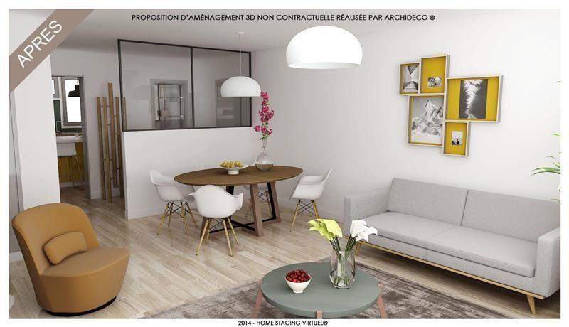 Dans le vieux Saint Maur, prix imbattable pour ce grand appartement de 86 m². Il comprend un séjour d'environ 30m² avec vue dégagée, une cuisine dinatoire, 2 belles chambres (possibilité 3), salle de bains avec rangements, 1 cave, et place de parking en sous-sol. Votre agence Agentys St-Maur Adamville vous offre un projet ARCHIDECO - HOME STAGING VIRTUEL® réalisé par un architecte d'intérieur (proposition d'aménagement 3D non contractuelle). Contactez-nous pour plus d'informations. Besoin…