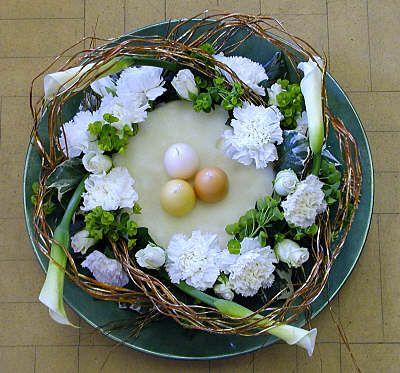 Easter U0027Nestu0027 Flower Arrangement