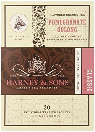 Photo of Harney and Sons Pomegranate Oolong Tea, 20 Count