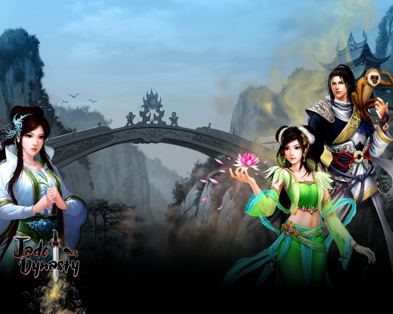 Jade Dynasty (Perfect World) Fantasy MMORPG Online Game