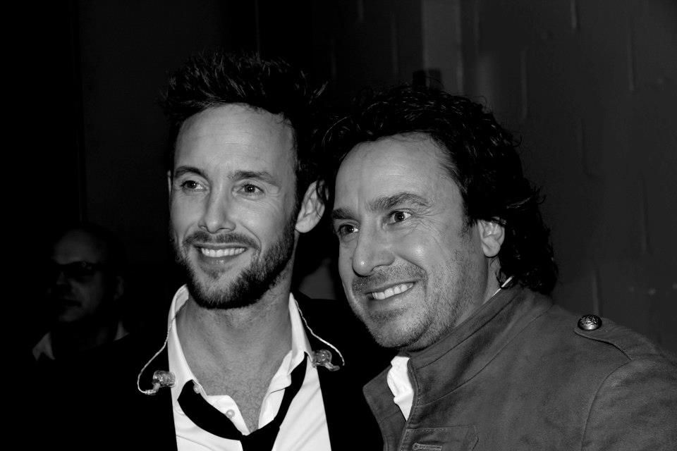 Backstage at the LINDA. KIPPENVEL concert with Charly Luske and ...