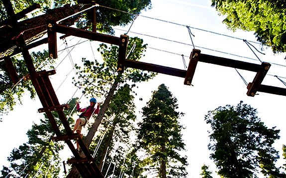 Treetop Adventure Park at Granlibakken Tahoe City