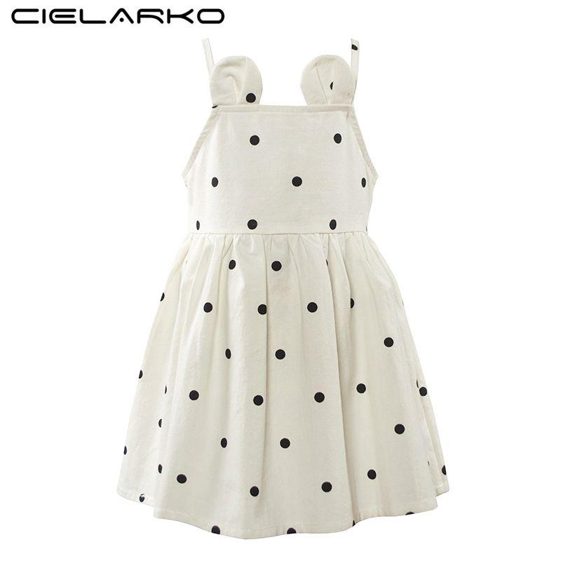 5bc4211d54ec Aliexpress.com   Buy Cielarko Girls Dress Summer Cotton Children ...