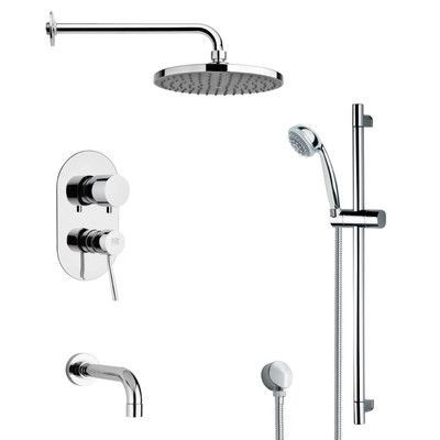 Remer By Nameek S Galiano Pressure Balance Tub And Shower Faucet