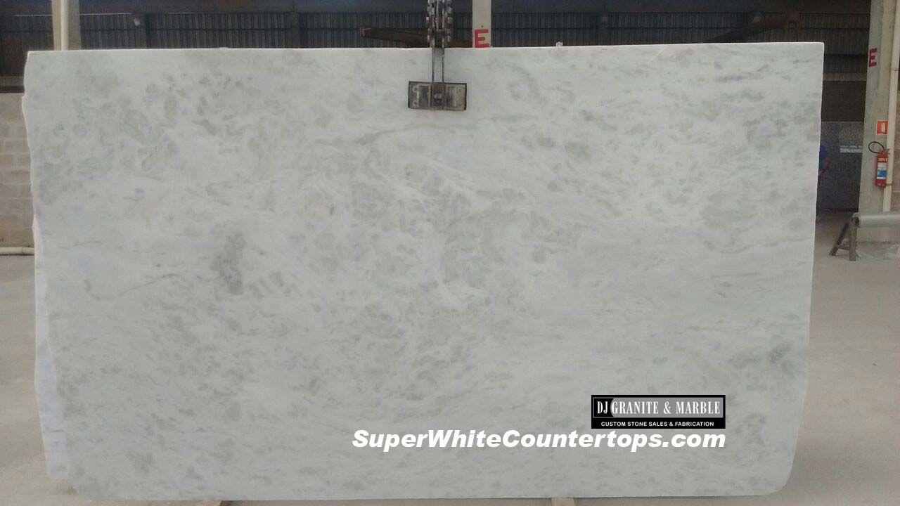Super White Quartzite Countertops Has The Look Of Marble With Durability