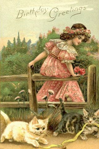 Victorian Birthday Cards Google Zoeken Clipart Pinterest