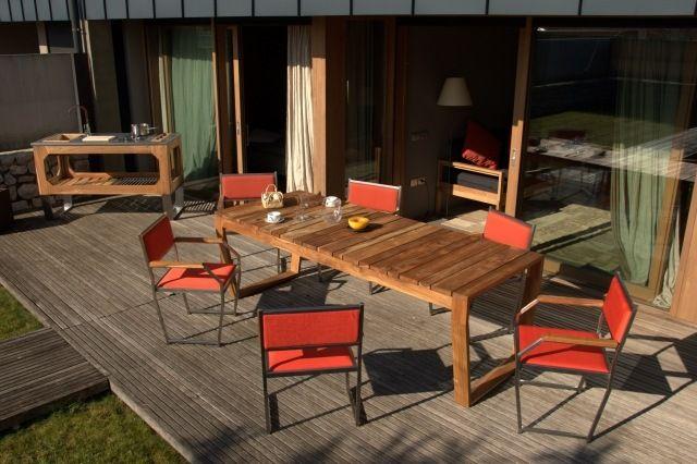 Table de jardin en bois - quel salon de jardin choisir | Jardins en ...