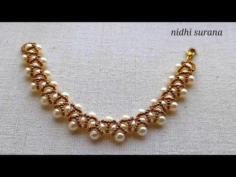 ⚜️ Elegant Pearl Necklace, Choker, Bracelet/ Beade