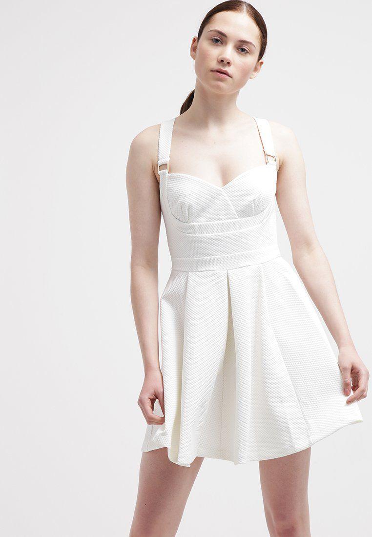 Lipsy Cocktailkleid / festliches Kleid - white - Zalando.de ...