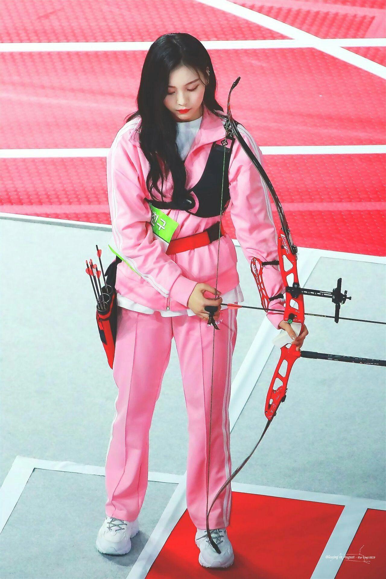 Gfriend Umji Isac 2019 Idol Star Athletics Championship South Korean Girls Isac Kpop G Friend