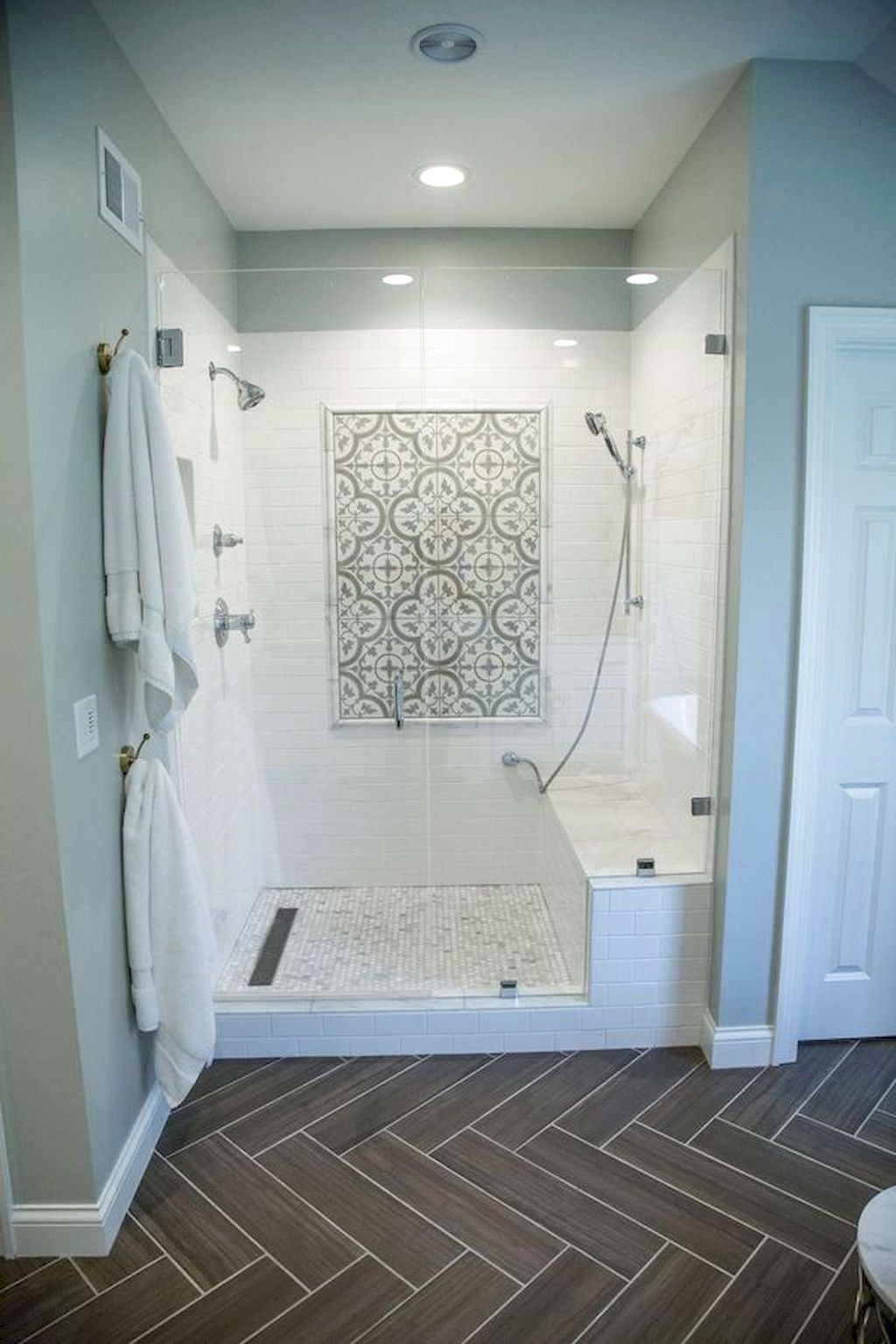 82 amazing farmhouse tile shower remodel ideas in 2020 on beautiful farmhouse bathroom shower decor ideas and remodel an extraordinary design id=57322