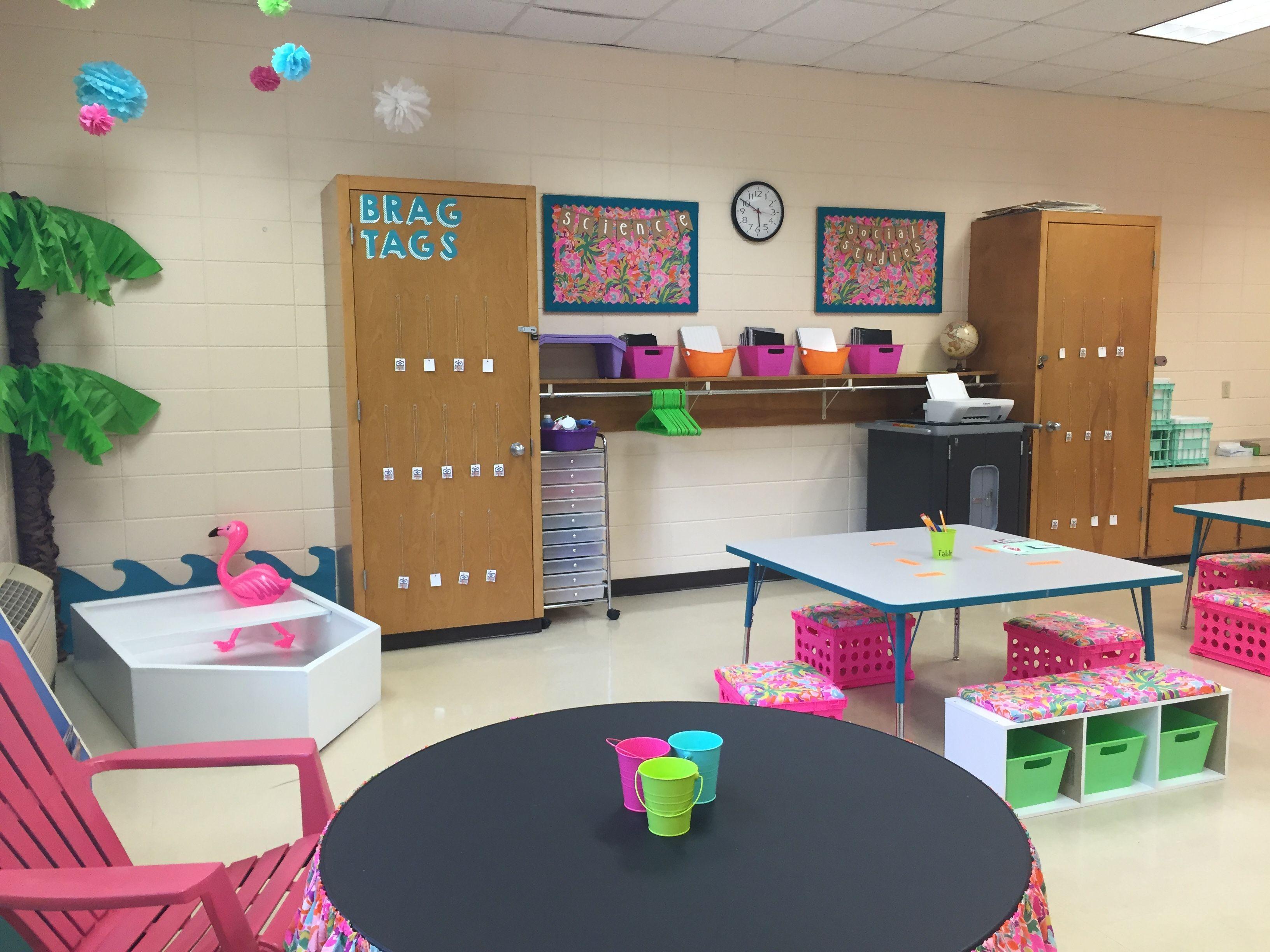 lilly pulitzer and flamingo themed classroom i m so in love with lilly pulitzer and flamingo themed classroom i m so in love with how it