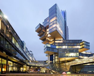 Sono Postmoderno Norddeutsche Landesbank Hannover Germania Famous Architectural Buildings Public Architecture Light Architecture