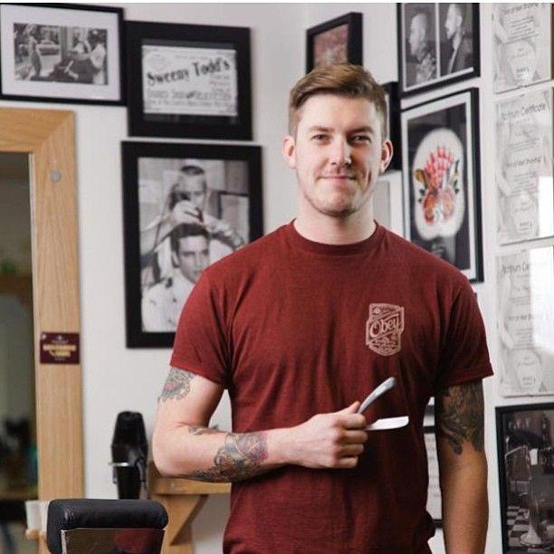 #barber #barbershop #barbergang #barberlife #pomp #pompadour #pomade #traditionalbarber #traditional #oldschool #fade #highfade #lowfade #taper