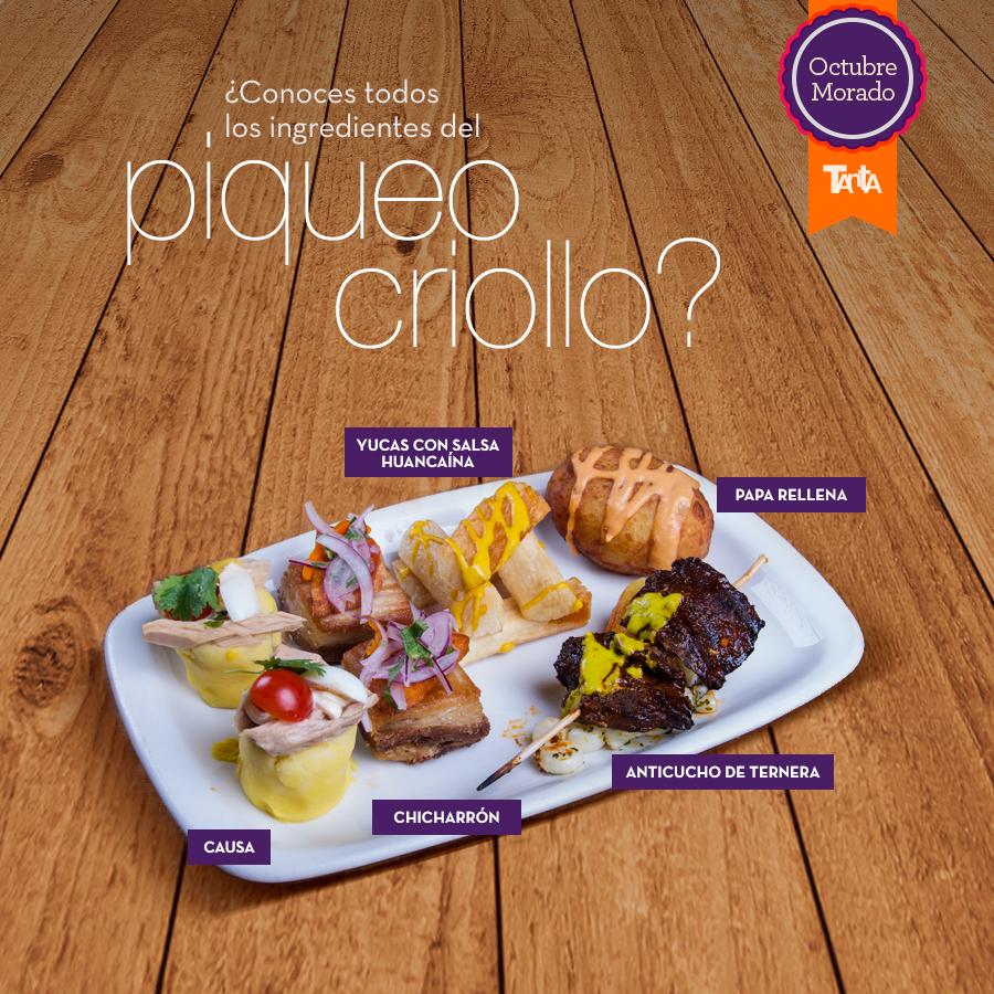 """Te presentamos el plato de los """"indecisos espabilados"""". Sí, sí, sí… el de los que no se atreven a tomar una decisión pero al final, ¡se quedan con todas las opciones! http://bit.ly/Piqueo_Criollo_TM"""
