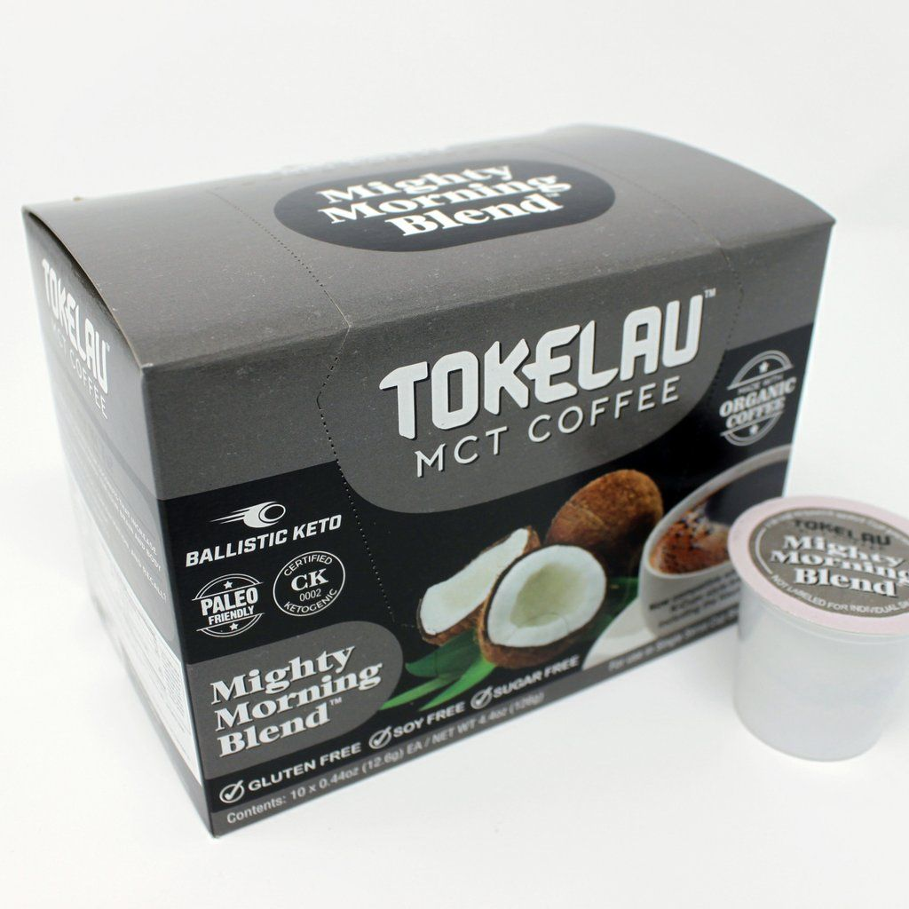 MCT COFFEE PODS MIGHTY MORNING BLEND Coffee pods