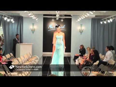 A short video of Mac Duggal dresses forth coming this Spring 2013