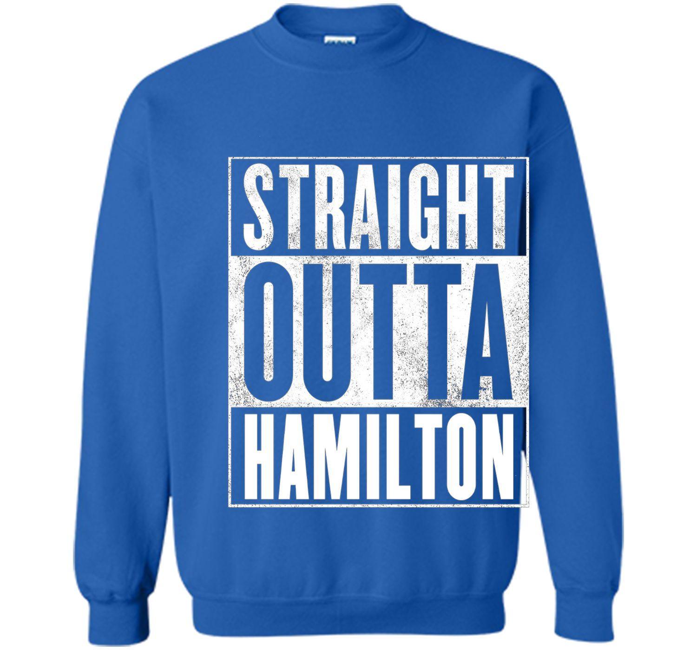 Hamilton Canada T-Shirt - STRAIGHT OUTTA HAMILTON Shirt