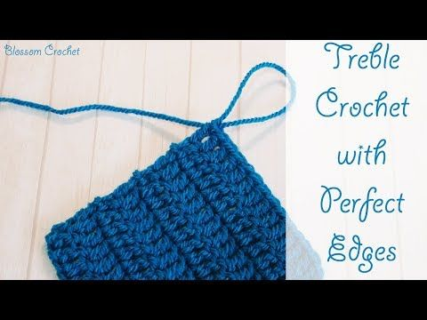 Treble crochet rows with perfect edges for beginners and beyond treble crochet rows with perfect edges for beginners and beyond youtube ccuart Images