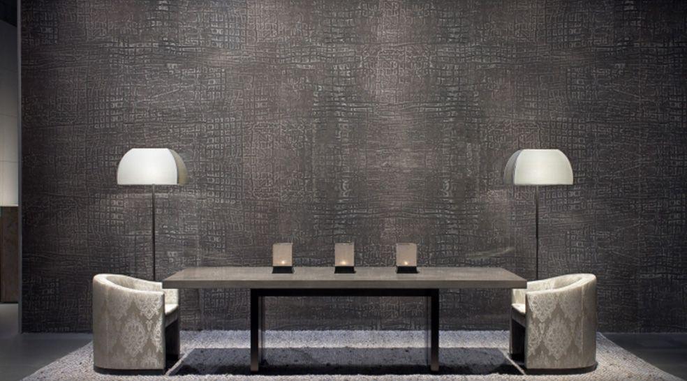 Armani Casa Miami Design District Living Room brown and