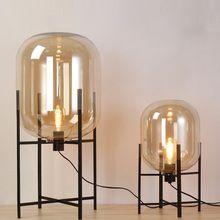 Noord Art Glas tafellampen Creative glas bureau tafel licht moderne ...