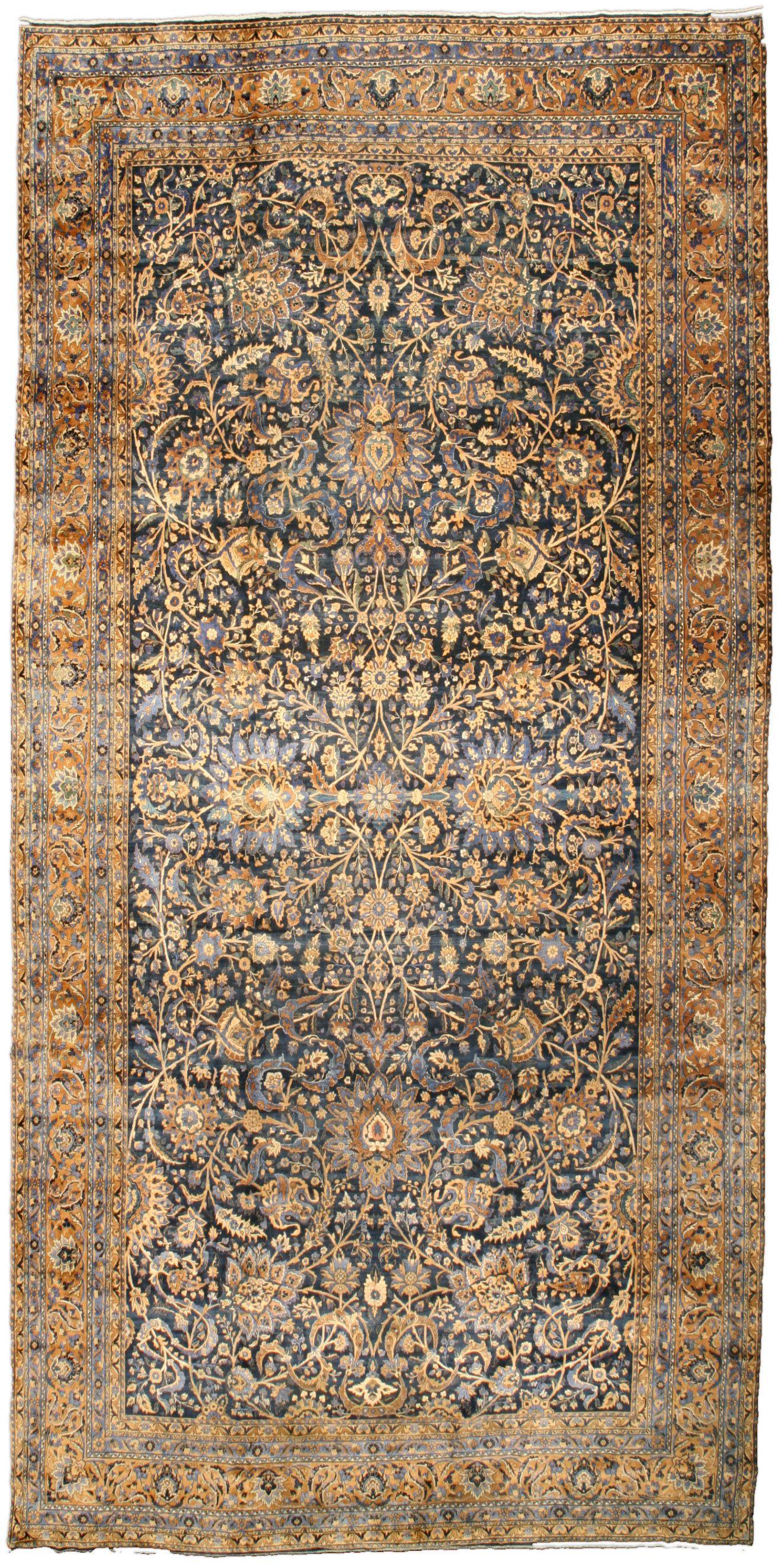Antique Persian Kirman Rug Rugs Rugs On Carpet Carpet