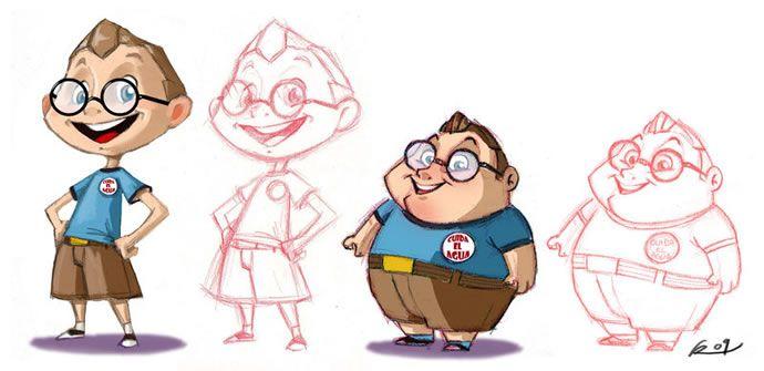 Design A Cartoon Character : Character design inspiration by reevolver abduzeedo