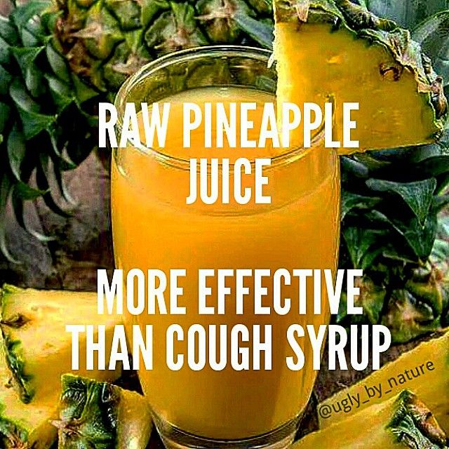 Bromelain found in pineapples is an anti-inflammatory enzyme that kills bacteria and fights infections. Believe it or not pineapple juice is 5X more effective at cough suppression than cough syrup. It soothes a sore throat and helps the body expel mucous. Manganese a mineral found in pineapple juice helps the body make bones and connective tissue. It also helps by absorbing extra calcium metabolizing fats and carbs and increasing nerve function. Bromelain is also sold as a natural…