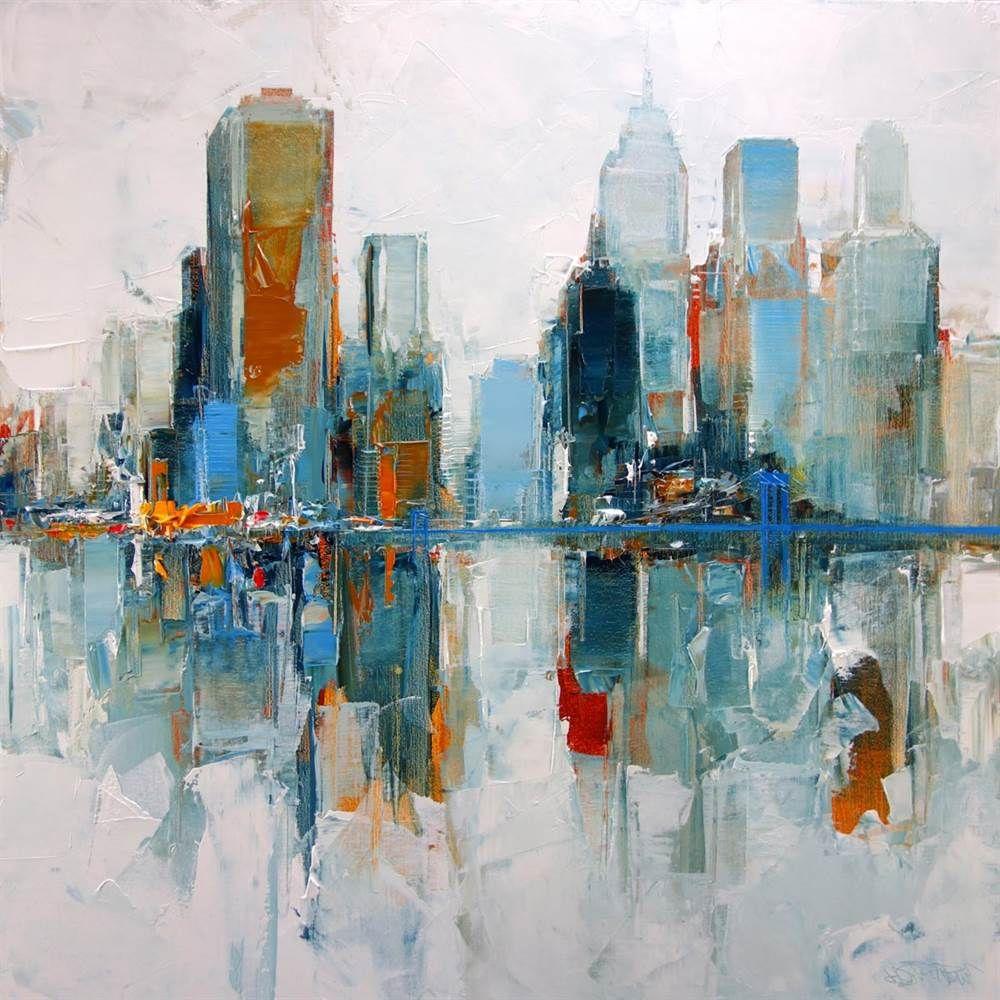 New York - White - artfloor | Cuadros | Pinterest | Arte ambiental ...