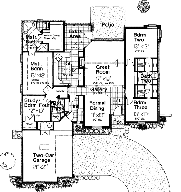 Another Jack And Jill Bathroom Idea Jack And Jill Bathroom Country French Floor Plans Floor Plan Design