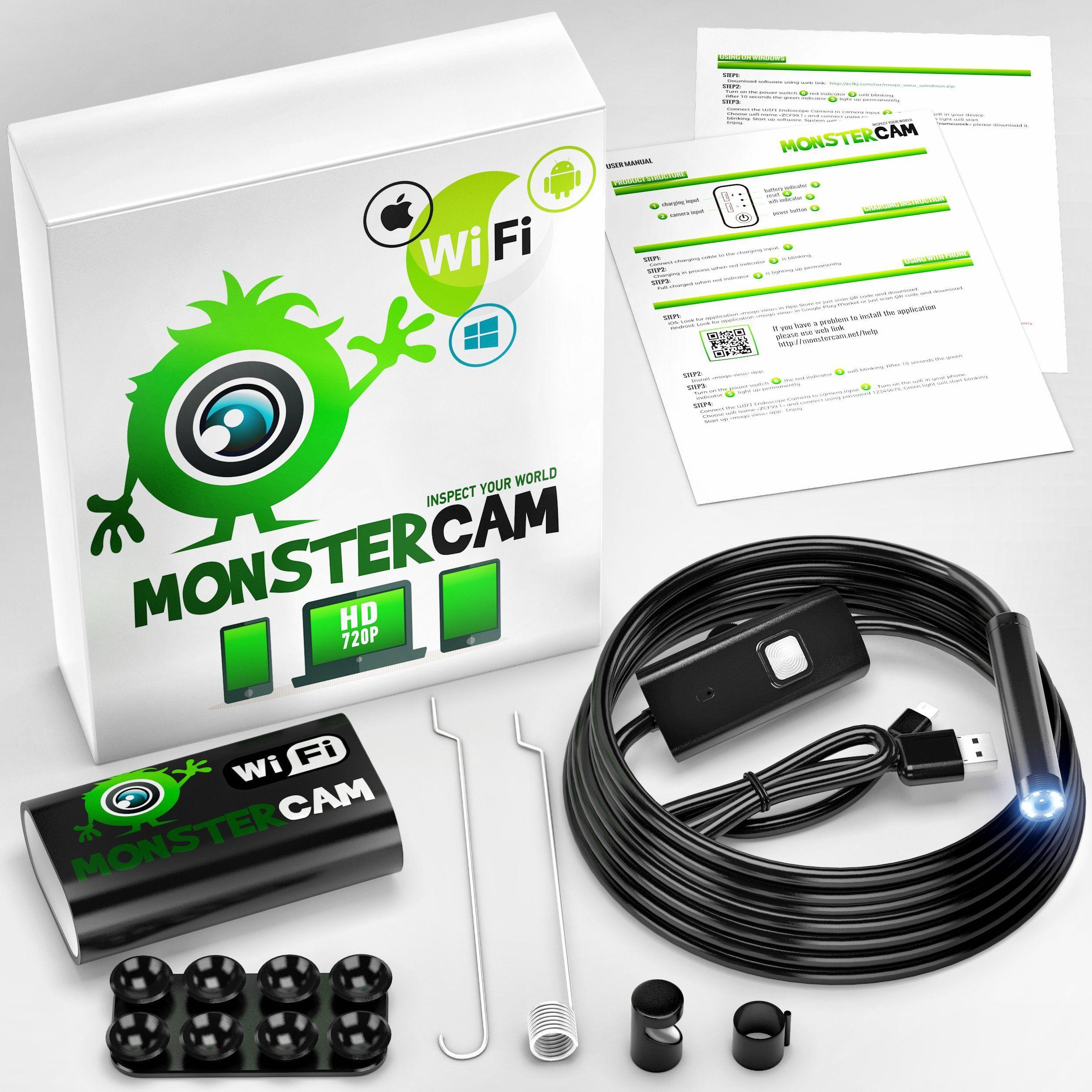 Endoscope endoscope inspection camera borescope camera