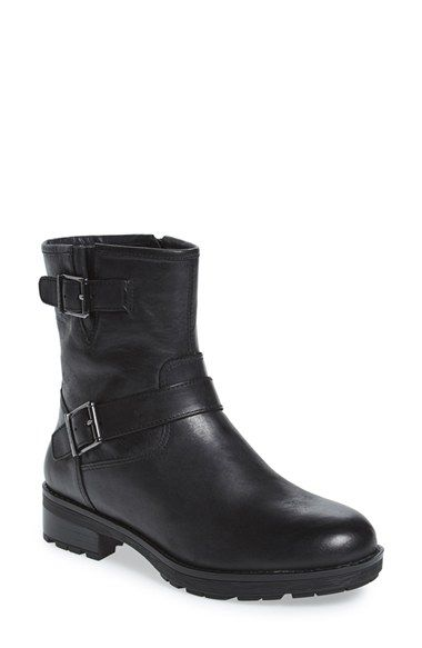 10a00c9f727 Free shipping and returns on Vionic  Malia  Moto Boot (Women) at Nordstrom.com.  A waxed-leather boot with moto-inspired styling features a flexible