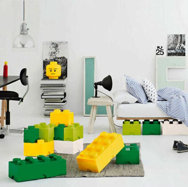 Lego Block Storage Boxes For Kids...forget Giving It To The Kids I