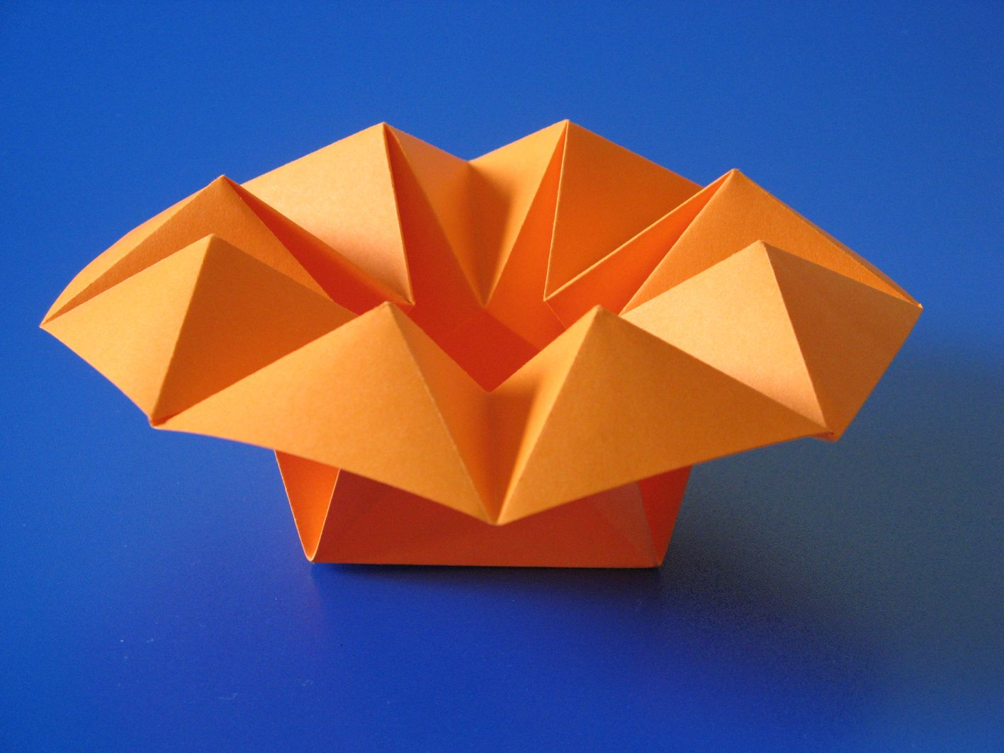 Origami poems of paper box