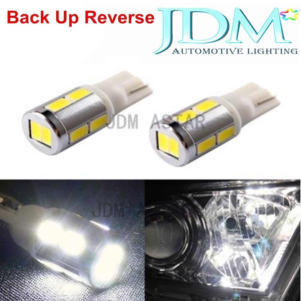 Jdm Astar 2x T10 Wedge 921 912 5 Smd 12v Led White Backup Reverse Lights Bulbs 12v Led Automotive Led Lights Led Replacement Bulbs