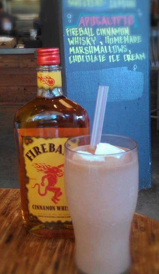 Fireball Milkshake | Bangers | Fireball recipes, Drinks