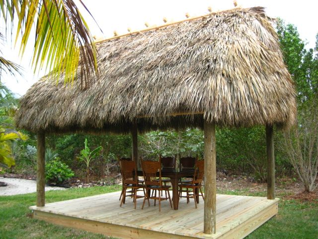 New Backyard Tiki Tiki Hut Backyard Large Gazebo