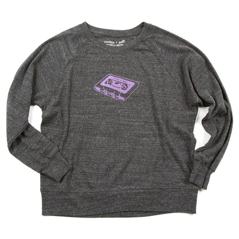Mix Tape Slouchy Pullover