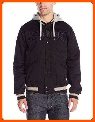 DC Mens Coolwood Varsity Jacket