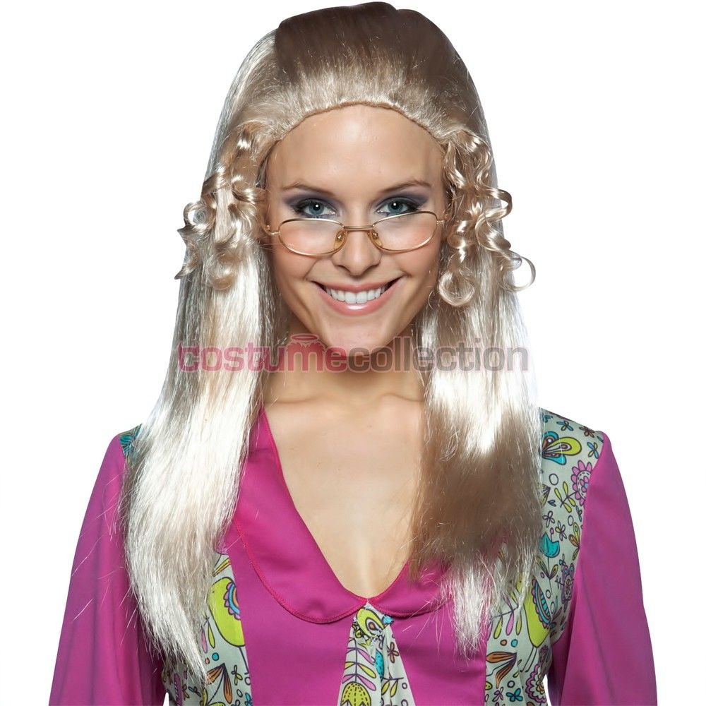 jan the brady bunch 70s costume party blonde wig - Halloween Costumes With Blonde Wig