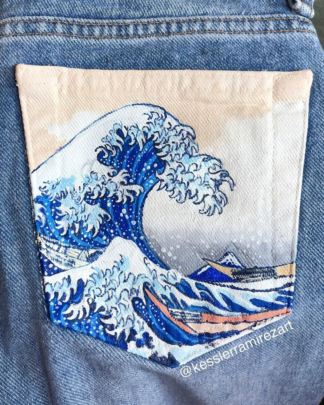 Kessler On Instagram The Great Wave Off Kanagawa The First