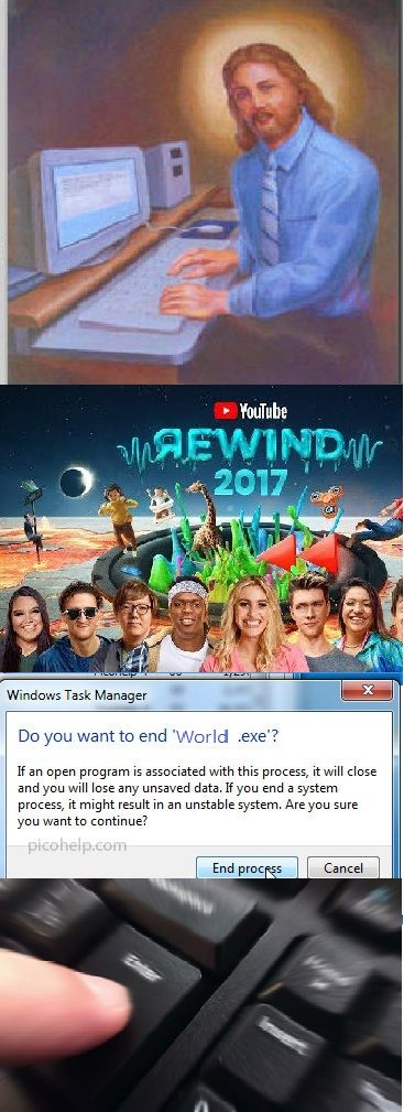 Watching the 2017 YouTube Rewind Like http://ift.tt/2l17wib