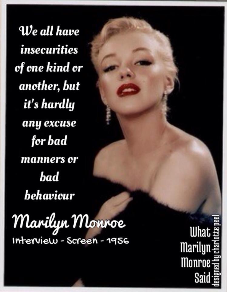 Real Marilyn Monroe Quotes Marilyn Monroe Her Words In 2019