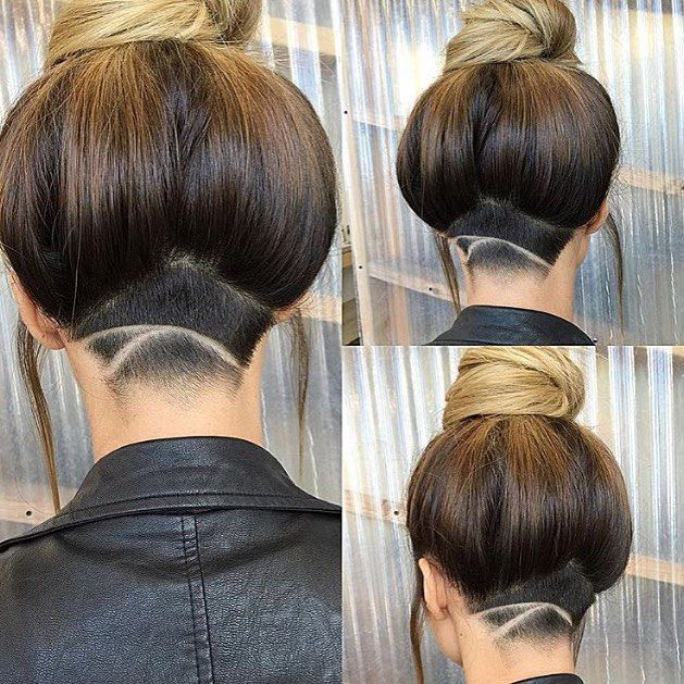 Marvelous Cool Nape Shave By @fernthebarber #UCFeed #Undercut #Undercuts #ShavedNape  #NapeShave